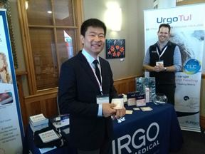 URGO booth at 2017 DEBRA Congress (1)